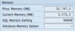 SAP ST04 SQL Server memory settings