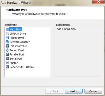 SUSE HANA VM second hard disk