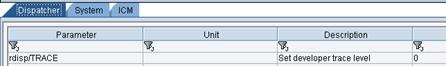 SAP MC rdisp/TRACE ICM