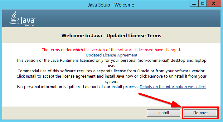 Remove Java 8 SE
